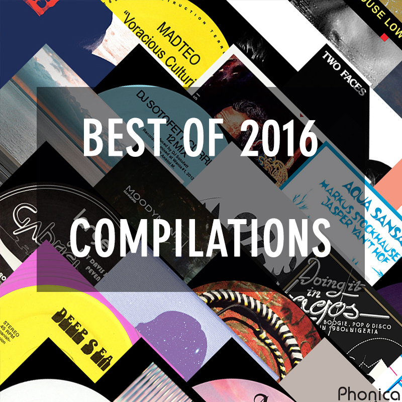 phonica record 39 s best of 2016 compilations. Black Bedroom Furniture Sets. Home Design Ideas